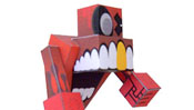 Children's Paper Craft Models